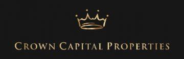 Crown Capital Properties logo on black